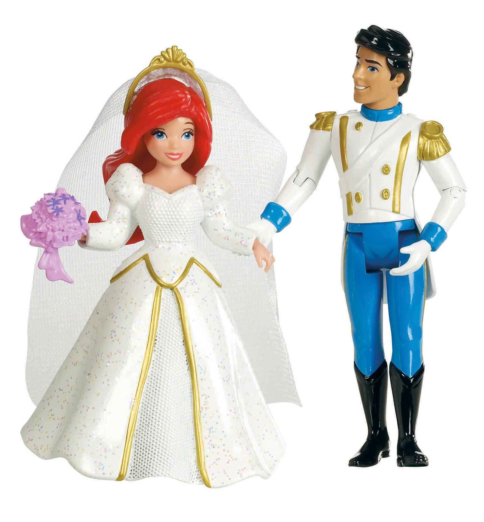 BARBIE DISNEY PRINCESS FAIRYTALE WEDDING GIFT SET BELLA ... |Disney Princess Wedding Set