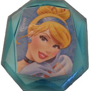 Disney Princess Gemstone Cupcake Topper Ring- Cinderella- Set of 12