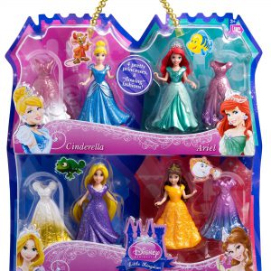 Disney Princess Magiclip 4-Pack Giftset