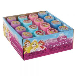 Disney Princess Mini Bubbles, 16ct