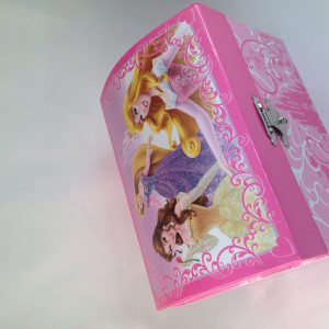 Disney Princess Music Jewelry Box Princesses Belle Rapunzel Aurora Musical