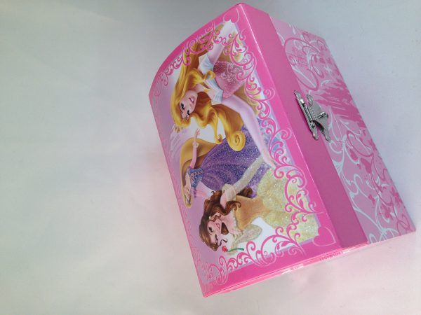Disney Princess Music Jewelry Box Princesses Belle Rapunzel Aurora Musical