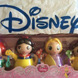 Disney Princess Q-tea Play SET Ariel, Snow White, Rapunzel & Belle 18-pieces