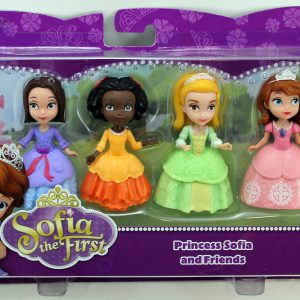 "Disney Sofia The First 3"" Figure 4-Pack - Princess Sofia, Ruby, Jade & Amber"