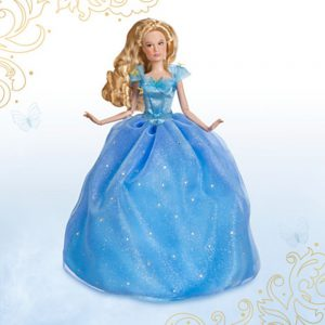 Disney Store Cinderella Film Collection Doll - Live Action Film ~ 11""