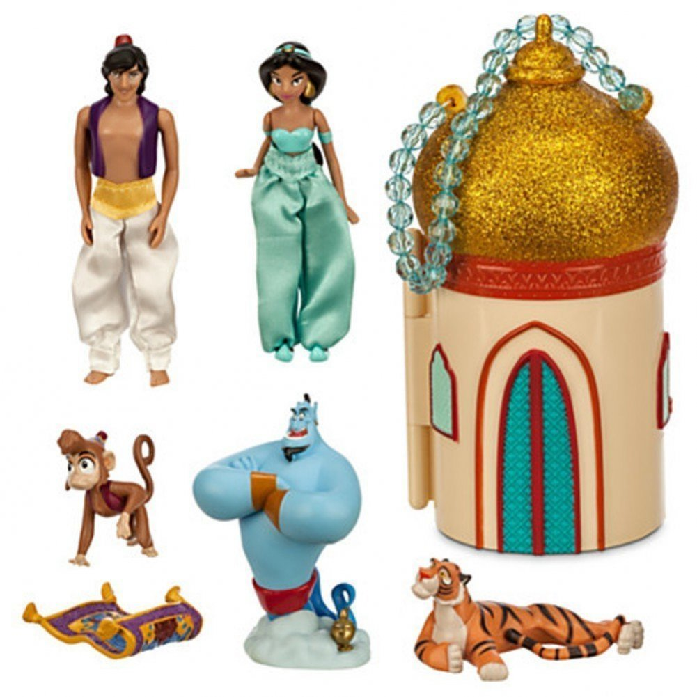 Disney Store Princess Jasmine Mini Castle Play Set Aladdin By