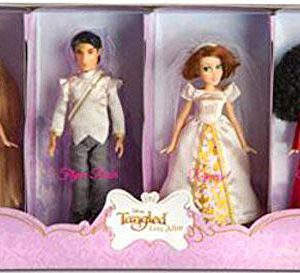 Disney Tangled Ever After Exclusive Mini Princess Doll Set Rapunzel, Flynn Ri...