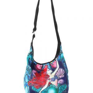 Disney The Little Mermaid Ariel Stained Glass Hobo Bag