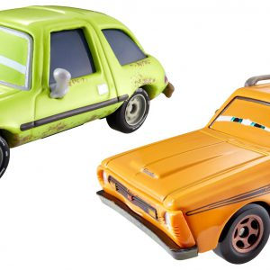 Disney/Pixar Cars 2015 Ye Left Turn Inn Grem in Trouble and Acer in Trouble Die-Cast Vehicles