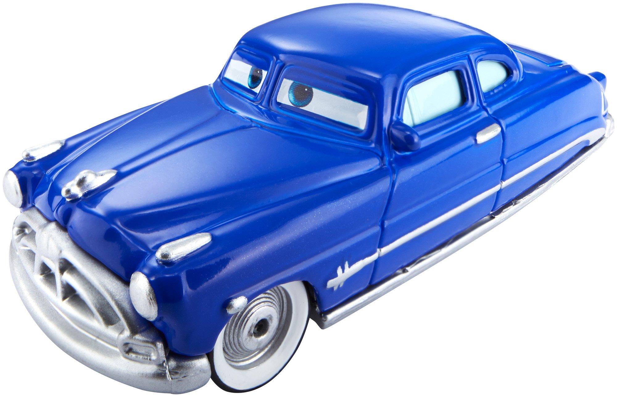 Disney Pixar Cars Color Changer Doc Hudson Blue To Black