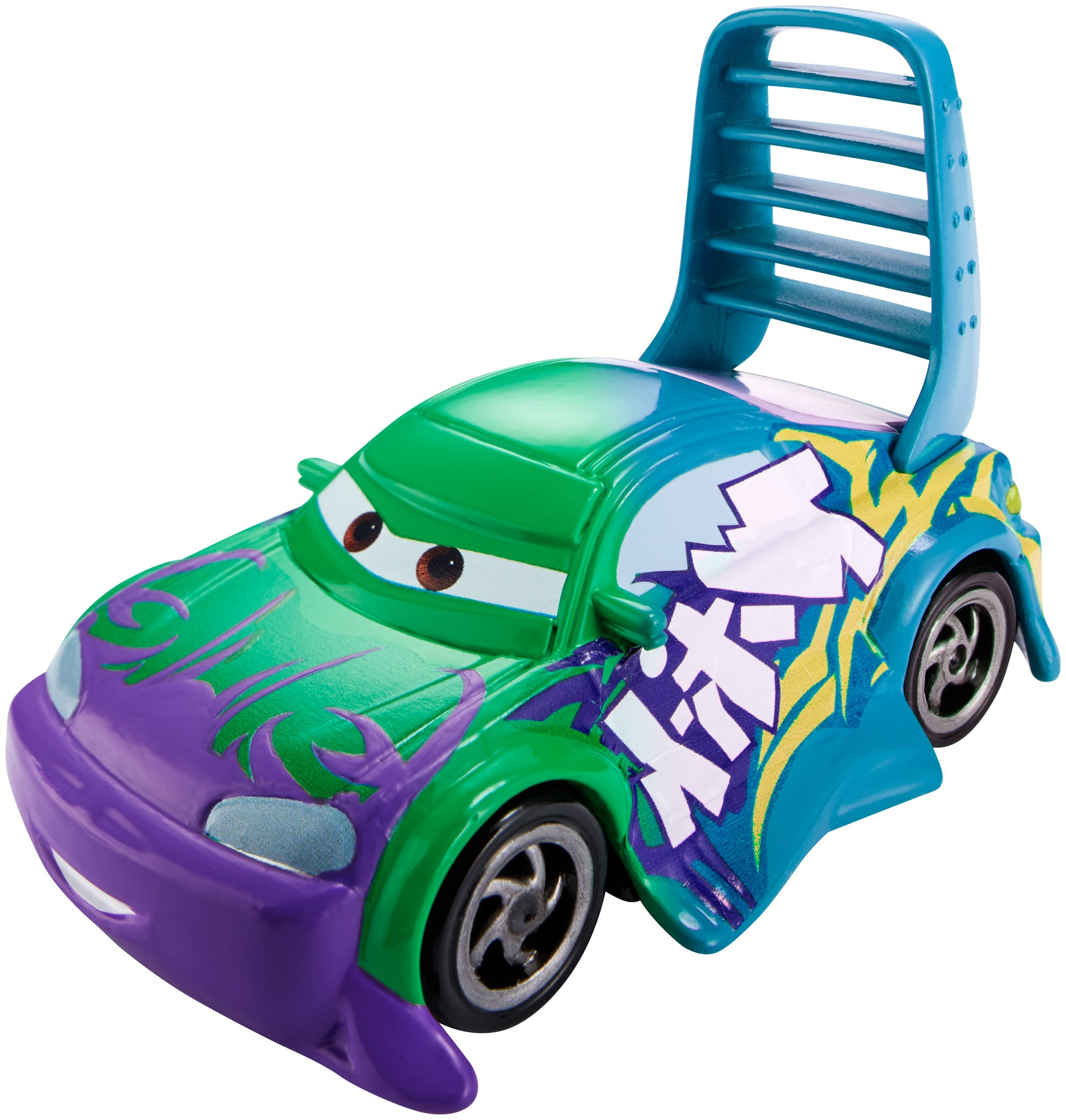 Disney Pixar Cars Color Changer Wingo Green To Turquoise Vehicle Toysplus