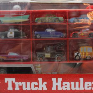 Disney/Pixar Cars Mack Truck Hauler Carrying Case + 15 Die Cast Character Cars (2012 Edition) * Disney Theme Parks Exclusive & Limited Availability Item *