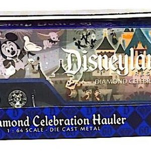 Disneyland 60th Diamond Anniversary Celebration Die Cast Metal Hauler by Disney