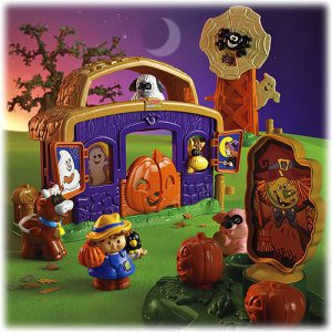 Fisher Price Little People Pumpkin Party Playset