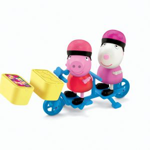 Fisher-Price Peppa Pig Bicycling Together