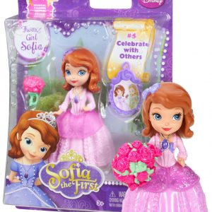 Flower Girl Sofia ~3 - Disney Sofia the First Mini-Doll Series: #5 Celebrate with Others