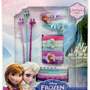Frozen Hair Accessory and Extension 18 Piece Set