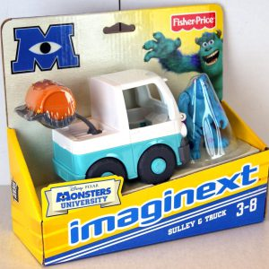 Imaginext Disney Pixar Monsters University Sulley & Truck