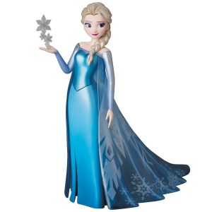 Japan Disney Official Vinyl Collectible Dolls Elsa Frozen Complete Scale Figure Character Model No 253 VCD Medicom Toy