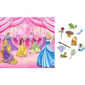 KidsPartyWorld.com Disney Princess Royal Event Backdrop Kit