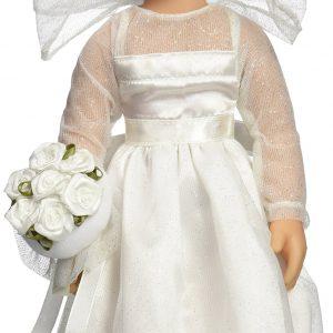 "Melissa & Doug Lindsay - 14"" Bride Doll"