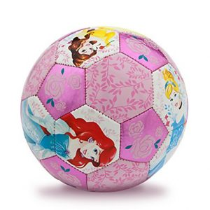 NEW Disney Soccer Princess Soccer Ball for Kids Size 3