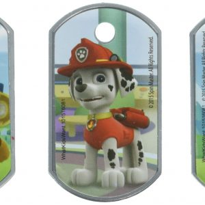 Nick Jr Paw Patrol Dog Tags - Set of 3