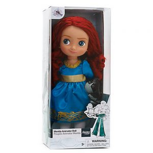 Official Disney Merida Brave 38cm Animator Toddler Doll With Accessory Angus by Disney