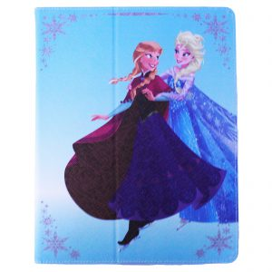 Official Licensed Disney Frozen Anna And Elsa I Pad 2 3 4 Cover Case Book Openin