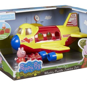 Peppa Pig's Muddy Puddle Jumbo Jet (Dispatched From UK)