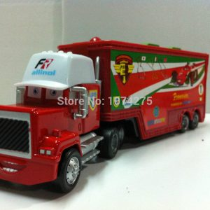 Pixar Cars Diecast Mack Uncle Truck Francesco Bernoulli Metal Toys Cars Gift Toys