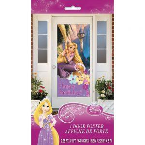 """Plastic Disney Tangled Door Poster, 60"""" x 27"""""""
