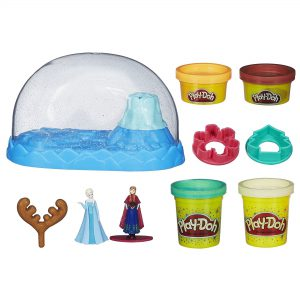 Play-Doh Sparkle Snow Dome Set Featuring Disney's Frozen
