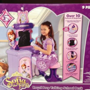 Sofia The First Royal Prep Talking School Desk (Bring Playtime to Life for Your Child with The Disney Princess (Manufacturer Recommended Age: 3 Years and up)