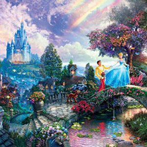 Thomas Kinkade The Disney Dreams Collection: Cinderella Wishes Upon a Dream Puzzle, 750 pc