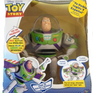 Toy Story Disney Spanish Speaking Buzz Lightyear Talking Action Figure