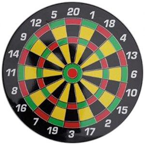 Triumph Sports Family Night Magnetic Safety Dartboard