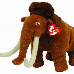 Ty Ice Age Beanie Babies Manny the Wooly Mammoth