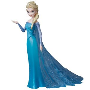 Ultra Detail Figure No 258 UDF Disney Movie Series 5 Elsa Frozen Complete Model Collection Medicom Toy