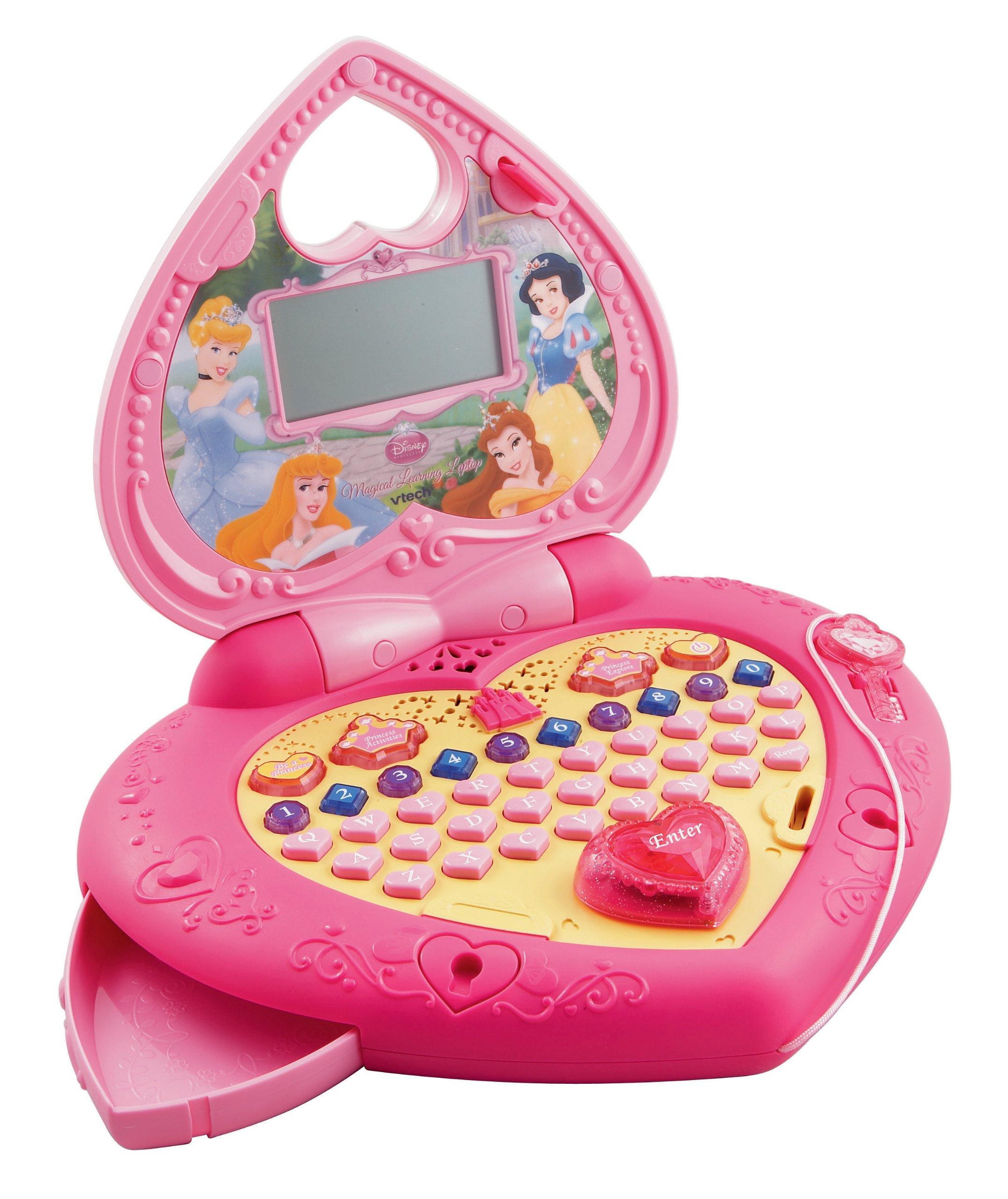 VTech Disney Princess Magical Learning Laptop - ToysPlus