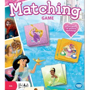 Wonder Forge Disney Princess Matching Game  for Boys & Girls Age 3 and Up - A Fun & Fast Memory Game You Can Play Over & Over